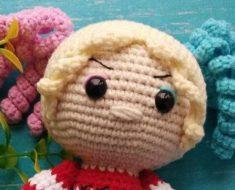 Pink and White Harley Quinn – Free Pattern – Drunken Aunt Wendy | 190x235